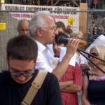 der ehemalige Pfarrer der Thomaskirche engagiert sich immer in erster Reihe für Courage Leipzig