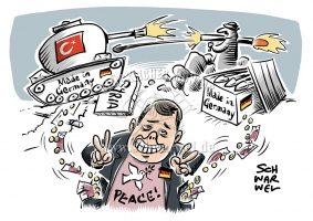 Karikatur des Tages 24.01.2018 © www.schwarwel.de